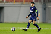 6th November 2019; Vozdovac Stadium, Belgrade, Serbia; UEFA Under 19 UEFA Youth league football, FK Crvena Zvezda under 19s versus Tottenham Hotspur under 19s; Jamie Bowden of Tottenham Hotspurs FC passes the ball