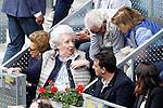 Infanta of Spain Pilar de Borbon during Madrid Open Tennis 2016 Semifinal match.May, 7, 2016.(ALTERPHOTOS/Acero)