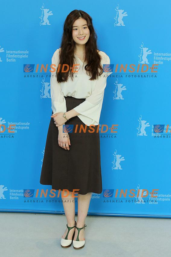 Jung Eunchae. Berlin 15/02/2013. 63th Berlinale 'Nobody's Daughter Haewon' photocall. foto Mark Cape/Insidefoto