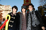 Jonas Brothers &amp; Kevin Jonas &amp; Joe Jonas &amp; Nick Jonas<br /> appearing in the 2007 Macy's Thanksgiving Day Parade, New York City.<br /> November 22, 2007<br /> &copy; Walter McBride / Retna Ltd.