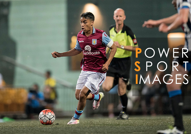 Newcastle United vs Aston Villa during the Main of the HKFC Citi Soccer Sevens on 21 May 2016 in the Hong Kong Footbal Club, Hong Kong, China. Photo by Lim Weixiang / Power Sport Images
