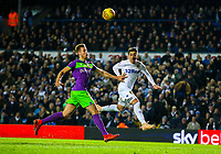 Leeds United's Pablo Hernandez heads his side's second goal<br /> <br /> Photographer Alex Dodd/CameraSport<br /> <br /> The EFL Sky Bet Championship - Leeds United v Bristol City - Saturday 24th November 2018 - Elland Road - Leeds<br /> <br /> World Copyright &copy; 2018 CameraSport. All rights reserved. 43 Linden Ave. Countesthorpe. Leicester. England. LE8 5PG - Tel: +44 (0) 116 277 4147 - admin@camerasport.com - www.camerasport.com