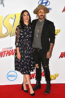 Nikohl Boosheri &amp; Wild the Coyote at the premiere for &quot;Ant-Man and the Wasp&quot; at the El Capitan Theatre, Los Angeles, USA 25 June 2018<br /> Picture: Paul Smith/Featureflash/SilverHub 0208 004 5359 sales@silverhubmedia.com