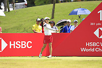 Minjee Lee (AUS) in action on the 11th during Round 4 of the HSBC Womens Champions 2018 at Sentosa Golf Club on the Sunday 4th March 2018.<br /> Picture:  Thos Caffrey / www.golffile.ie<br /> <br /> All photo usage must carry mandatory copyright credit (&copy; Golffile | Thos Caffrey)
