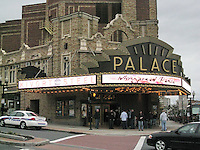 The Palace Theater Albany New York. Venue Marquee - Facade before The Widespread Panic Show.