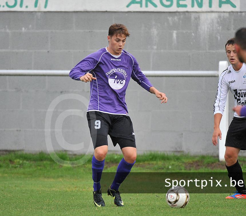 FC Helkijn : Thibault Libbrecht<br /> foto VDB / Bart Vandenbroucke