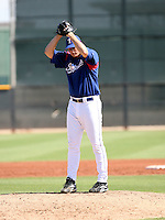 Blake Beavan / Texas Rangers 2008 Instructional League..Photo by:  Bill Mitchell/Four Seam Images