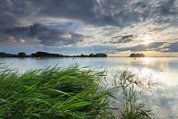 France, Aube (10), Champagne, Parc naturel régional de la Forêt d'Orient, Dienville, Port-Dienville, lac Amance