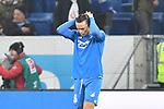 Hoffenheims Nico Schulz (Nr.16) nach dem Unentschieden beim Spiel in der Fussball Bundesliga, TSG 1899 Hoffenheim - Fortuna Duesseldorf.<br /> <br /> Foto © PIX-Sportfotos *** Foto ist honorarpflichtig! *** Auf Anfrage in hoeherer Qualitaet/Aufloesung. Belegexemplar erbeten. Veroeffentlichung ausschliesslich fuer journalistisch-publizistische Zwecke. For editorial use only. DFL regulations prohibit any use of photographs as image sequences and/or quasi-video.