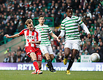 Kilmarnock's James Dayton unlucky not to score at the start of the second half