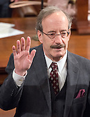 United States Representative Adriano Eliot Engel (Democrat of New York) takes the oath of office on the floor of the US House of Representatives during the opening day session of the 115th Congress in the US Capitol in Washington, DC on Tuesday, January 3, 2017.<br /> Credit: Ron Sachs / CNP<br /> (RESTRICTION: NO New York or New Jersey Newspapers or newspapers within a 75 mile radius of New York City)