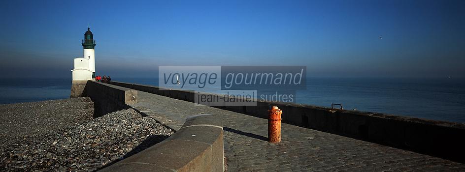 Europe/France/Normandie/Haute-Normandie/76/Seine-Maritime/Le Tréport: Le phare