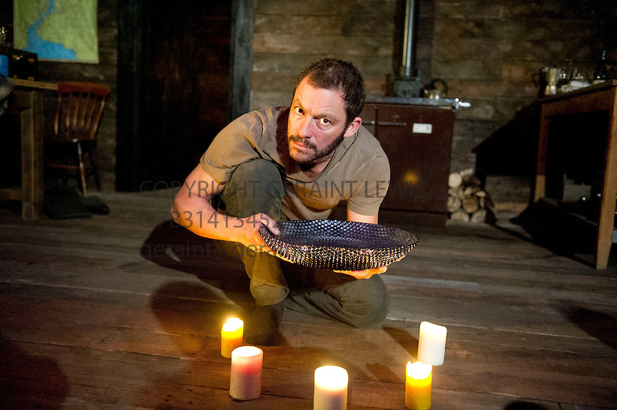 The River by Jez Butterworth directed by Ian Rickson. With Dominic West. Opens at The Jerwood Theatre Upstairs at The Royal Court Theatre on 26/10/12. CREDIT Geraint Lewis