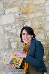 Alexandra Harris at Christ Church during the Sunday Times Oxford Literary Festival, UK, 2-10 April 2011. <br />