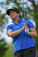 Jane Park (USA) watches her tee shot on 12 during round 1 of  the Volunteers of America LPGA Texas Classic, at the Old American Golf Club in The Colony, Texas, USA. 5/4/2018.<br /> Picture: Golffile | Ken Murray<br /> <br /> <br /> All photo usage must carry mandatory copyright credit (&copy; Golffile | Ken Murray)