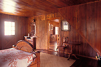 Interior of an historical home at the Parker Ranch in Waimea (Kamuela), Big Island