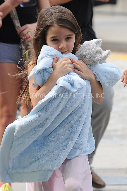 WWW.ACEPIXS.COM . . . . . .June 22, 2012...New York City....Suri Cruise goes out to play at Chelsea Piers on June 22, 2012 in New York City ....Please byline: KRISTIN CALLAHAN - ACEPIXS.COM.. . . . . . ..Ace Pictures, Inc: ..tel: (212) 243 8787 or (646) 769 0430..e-mail: info@acepixs.com..web: http://www.acepixs.com .
