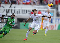 Saturday, June 7, 2014: The USMNT v2-1 over Nigeria in a World Cup send off match at EverBank Field.