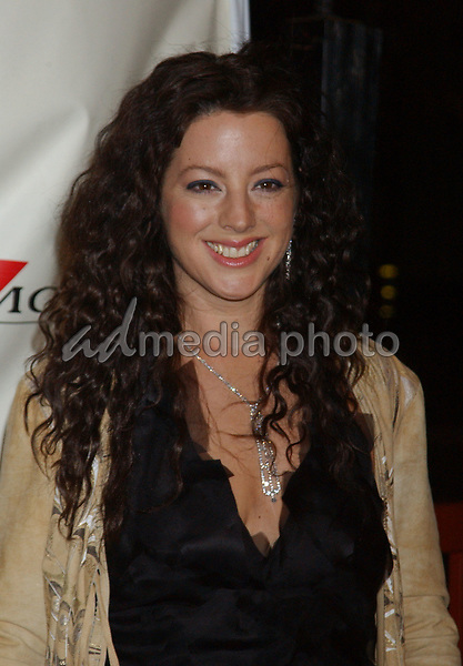 Feb. 8, 2004; Hollywood, CA, USA; Singer RSARAH McLACHLAN during the BMG 46th Annual Grammy Awards Post-Grammy Gala Celebration held at The Avalon. Mandatory Credit: Photo by Laura Farr/AdMedia. (©) Copyright 2003 by Laura Farr