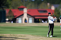 See-yun Kwon (KOR) on the 1st during the second round of the Augusta National Womans Amateur 2019, Champions Retreat, Augusta, Georgia, USA. 04/04/2019.<br /> Picture Fran Caffrey / Golffile.ie<br /> <br /> All photo usage must carry mandatory copyright credit (&copy; Golffile | Fran Caffrey)