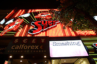 Montreal (Qc) Canada - July 12 2009 - Downtown Montreal at night : stripper (nude dancers) club