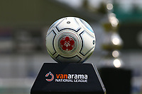 Match ball ahead of Woking vs Welling United, Vanarama National League South Promotion Play-Off Final Football at The Laithwaite Community Stadium on 12th May 2019