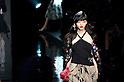 October 21st, 2011: Tokyo, Japan – A model walks down the catwalk wearing KEITA MARUYAMA TOKYO PARIS during Mercedes-Benz Fashion Week Tokyo 2012 Spring/Summer. The Mercedes-Benz Fashion Week Tokyo runs from October 16-22. (Photo by Yumeto Yamazaki/AFLO)