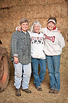 Families gather after Christmas at the Cuneo Ranch in California's Mother Lode. Peggy, Lori and Kathleen.