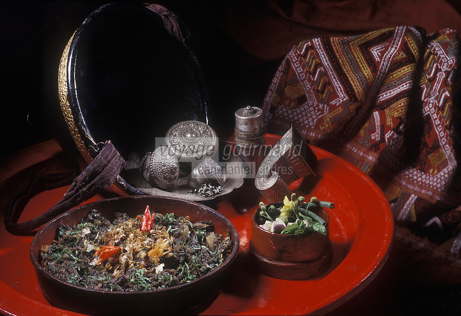 Asie/Laos/Luang-Prabang: Le Lap au restaurant: Villa de la Princesse
