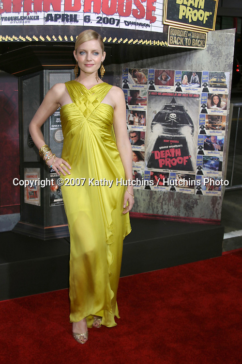 "Marley Shelton.""Grindhouse"" Los Angeles Premiere.Orpheum  Theater.Los Angeles, CA.March 25, 2007.©2007 Kathy Hutchins / Hutchins Photo."
