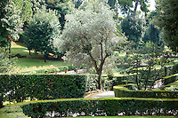 Gardens of the Villa d'Este, Tivoli, Italy - Unesco World Heritage Site.