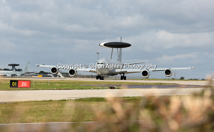 Boeing E-3D Sentry, ZH103/03, of 23 Sqn, Royal Air Force at RAF Waddington during Excercise Cobra Warrior, Waddington, United Kingdom, 4th September 2019. Photo by Glenn Ashley Photography