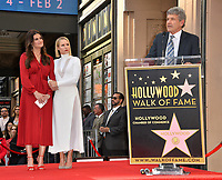 LOS ANGELES, CA. November 19, 2019: Idina Menzel, Kristen Bell & Alan F. Horn at the Hollywood Walk of Fame Star Ceremony honoring Kristen Bell & Idina Menzel.<br /> Pictures: Paul Smith/Featureflash