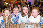 Pupils from St. Clares N.S., Kenmare at the Credit Union Quiz on Sunday, from left: Catherine Woods, Katie Palmer, Eimear Palmer and Emma ORegan.