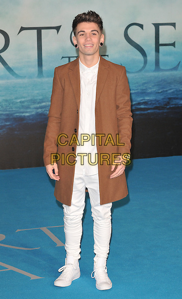 Jake Sims attends the &quot;In The Heart Of The Sea&quot; European film premiere, Empire cinema, Leicester Square, London, UK, on Wednesday 02 December 2015.<br /> CAP/CAN<br /> &copy;CAN/Capital Pictures