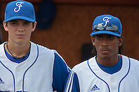 19 August 2010: David Van Heyningen of Team France is seen next to Maxime Charlot prior to France 7-6 win over Slovakia, at the 2010 European Championship, under 21, in Brno, Czech Republic.