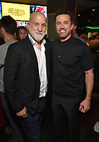 """HOLLYWOOD - SEPTEMBER 24: Chuck Saftler, Rob McElhenney, attend the post-party at Dave & Busters following the  premiere of FXX's """"It's Always Sunny in Philadelphia"""" Season 14 on September 24, 2019 in Hollywood, California. (Photo by Stewart Cook/FXX/PictureGroup)"""