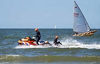 Nederland  Zandvoort - 8 juli 2018.    Zandvoort aan Zee. Reddingsbrigade op jetski.    Foto Berlinda van Dam /  Hollandse Hoogte