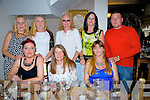 Norriey Dorrington from Gallowsfield, Tralee enjoying her 50th Birthday with family and friends at Bella Bia on Saturday  Front left to right, Elmera Barry, Norrie Dorrington, Niobe Barry.  Back left to right, Noreen O'Mahony, Marion Thomas, Lionel Dorrington, Sharon Brown, Shane O'Brien