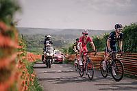 2nd group up La Redoute<br /> <br /> 104th Li&egrave;ge - Bastogne - Li&egrave;ge 2018 (1.UWT)<br /> 1 Day Race: Li&egrave;ge - Ans (258km)