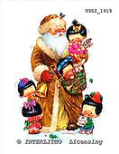 GIORDANO, CHRISTMAS CHILDREN, WEIHNACHTEN KINDER, NAVIDAD NIÑOS,Santa, paintings+++++,USGI1919,#XK#