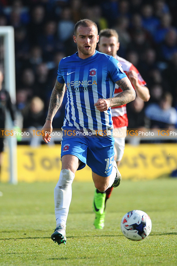 Lewis Alessandra of Hartlepool United during Hartlepool United vs Doncaster Rovers, Sky Bet EFL League 2 Football at Victoria Park on 6th May 2017