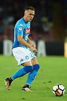 Piotr Zielinski Napoli<br /> Napoli 27-08-2017  Stadio San Paolo <br /> Football Campionato Serie A 2017/2018 <br /> Napoli - Atalanta<br /> Foto Cesare Purini / Insidefoto
