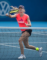 MARIA KIRILENKO..Tennis - Apia Sydney International -  Sydney 2013 -  Olympic Park - Sydney - NSW - Australia.Monday 7th January  2013. .© AMN Images, 30, Cleveland Street, London, W1T 4JD.Tel - +44 20 7907 6387.mfrey@advantagemedianet.com.www.amnimages.photoshelter.com.www.advantagemedianet.com.www.tennishead.net