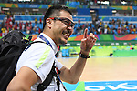Hiroyuki Misaka (JPN), <br /> SEPTEMBER 18, 2016 - WheelChair Rugby : <br /> 3rd place match Japan - Canada  <br /> at Carioca Arena 1<br /> during the Rio 2016 Paralympic Games in Rio de Janeiro, Brazil.<br /> (Photo by AFLO SPORT)