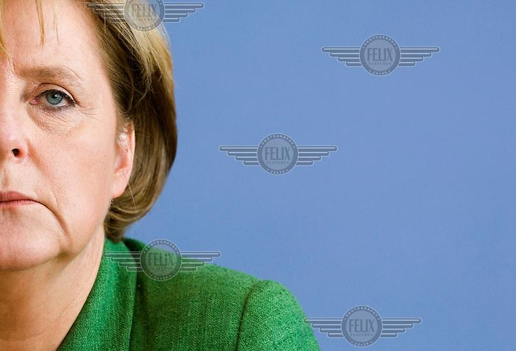 Angela Merkel, German Chancellor and leader of the CDU (Christian Democratic Union).