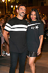 Roberto Tisci and US singer Ciara attends the party of Nike and Roberto Tisci at the Casino in Madrid, Spain. September 15, 2014. (ALTERPHOTOS/Carlos Dafonte)