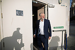 © Joel Goodman - 07973 332324 . 25/09/2016 . Liverpool , UK . JEREMY CORBYN arrives at the Museum of Liverpool for The Marr Show during a round of Sunday morning political interviews from the Docks in Liverpool on the first day of the Labour Party Conference . Photo credit : Joel Goodman