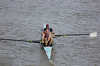 Crew: 207  Lymington Amateur Rowing Club - Op MasB 2-<br /> <br /> Pairs Head 2019<br /> <br /> To purchase this photo, or to see pricing information for Prints and Downloads, click the blue 'Add to Cart' button at the top-right of the page.