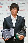 Megumi Takase (Leonessa), November 13, 2012 - Football / Soccer : Plenus Nadeshiko LEAGUE 2012 Award ceremony in Tokyo, Japan. (Photo by Yusuke Nakanishi/AFLO SPORT).